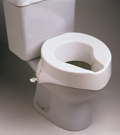 Mountside Mobility Raised toilet seat without lid
